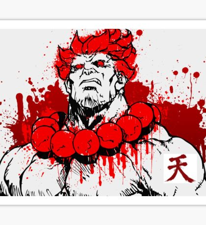 Street Fighter - Akuma Sticker