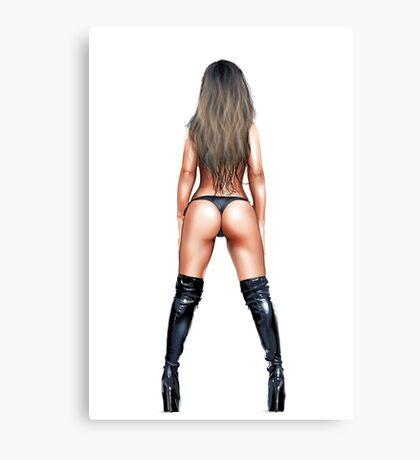 Booty Canvas Print