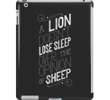 Lion iPad Case/Skin