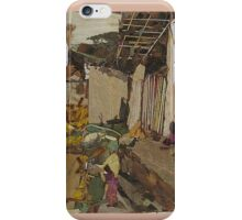 Village scene  iPhone Case/Skin