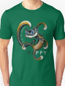 Happy Cat Dance Unisex T-Shirt