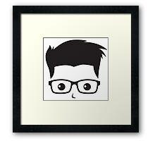 Geek/Nerd Sincere yet Fun - 3 Framed Print