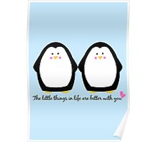 Penguin Love Poster