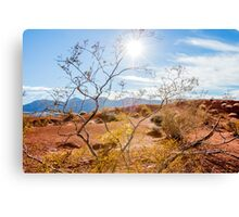 Valley of Fire State Park, Nevada Canvas Print