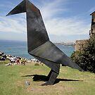 Origami Bird Sculpture, Sydney,Australia 2014 by muz2142