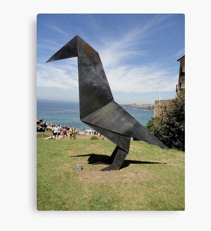 Origami Bird Sculpture, Sydney,Australia 2014 Canvas Print