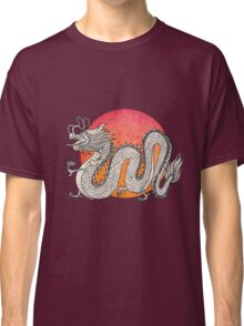 Champagne Dragon Classic T-Shirt