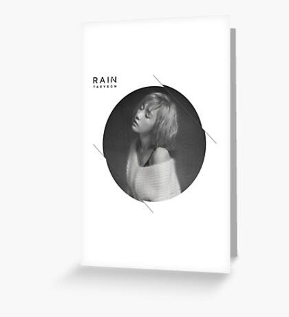 Girls' Generation (SNSD) Taeyeon SM Station 'Rain' Greeting Card