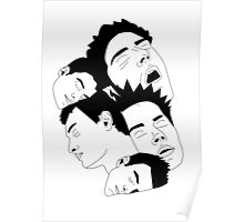 'Sleepy Heads' design by LUCILLE Poster