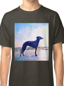 Dog at Sunset Classic T-Shirt