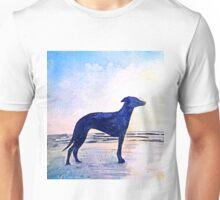 Dog at Sunset Unisex T-Shirt