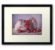 Jimmy and Snoozy Framed Print
