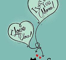 Cats - I Love You I love You More by Silvia Neto