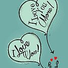 Humans - I Love You I love You More by Silvia Neto