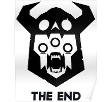 The End - Black Version Poster