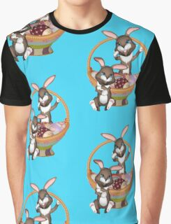 Cute Easter bunnies Graphic T-Shirt