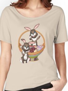 Cute Easter bunnies Women's Relaxed Fit T-Shirt