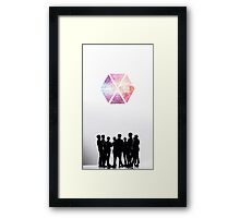 EXO WE ARE ONE Framed Print