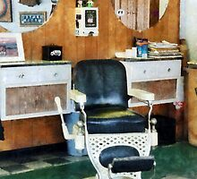 Barber Shop One Chair by Susan Savad