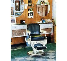 Barber Shop One Chair Photographic Print