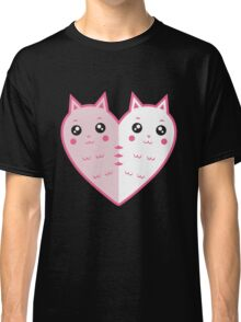 Cute cat-heart Classic T-Shirt
