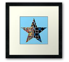 star combo only Framed Print