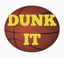 basketball (dunk it) One Piece - Short Sleeve