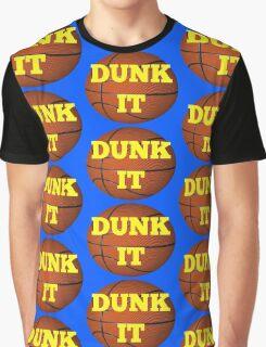basketball (dunk it) Graphic T-Shirt