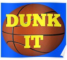 basketball (dunk it) Poster