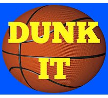 basketball (dunk it) Photographic Print