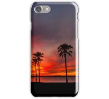 Blazing Sunset - Cleveland Qld Australia iPhone Case/Skin