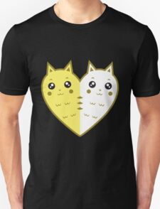 Cute cat-heart Unisex T-Shirt