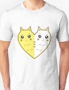 Cute cat-heart Unisex T-Shirt