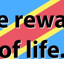 Children Are The Reward - Congolese Proverb Sticker