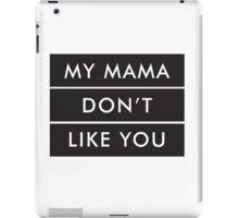 LOVE YOURSELF X BIEBER iPad Case/Skin