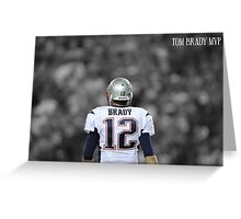 Tom Brady MVP Greeting Card
