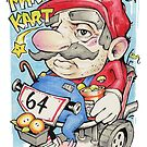 SUPER MARIO AGED 64 by DoodlesnDrips