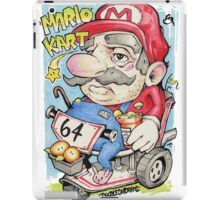 SUPER MARIO AGED 64 iPad Case/Skin