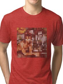 David Bowie, Diamond Dogs, Benday Dots. Tri-blend T-Shirt