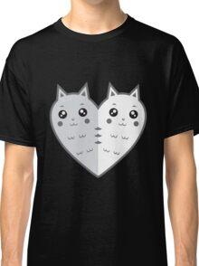 Cute cat-heart Classic T-Shirt