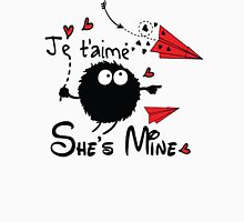 She's mine Men's Baseball ¾ T-Shirt