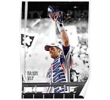 Tom Brady MVP Poster