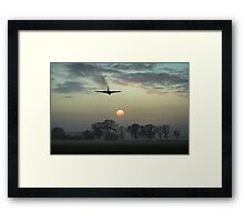And finally - Vulcan sunset Framed Print