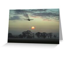 And finally - Vulcan sunset Greeting Card