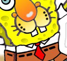 SpongeCat SquarePants Sticker