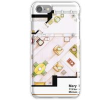 Mary Richards apt. from The Mary Tyler Moore Show iPhone Case/Skin