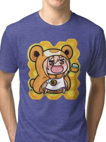 Um4ru x T3dd1urs4 Tri-blend T-Shirt