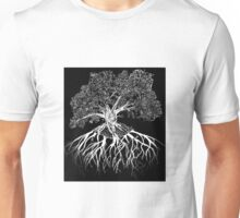 Etching of a Tree Unisex T-Shirt