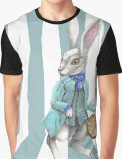 Follow the White Rabbit Graphic T-Shirt
