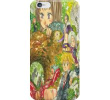 the seven deadly sins iPhone Case/Skin